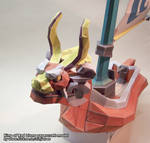 King of Red Lions papercraft