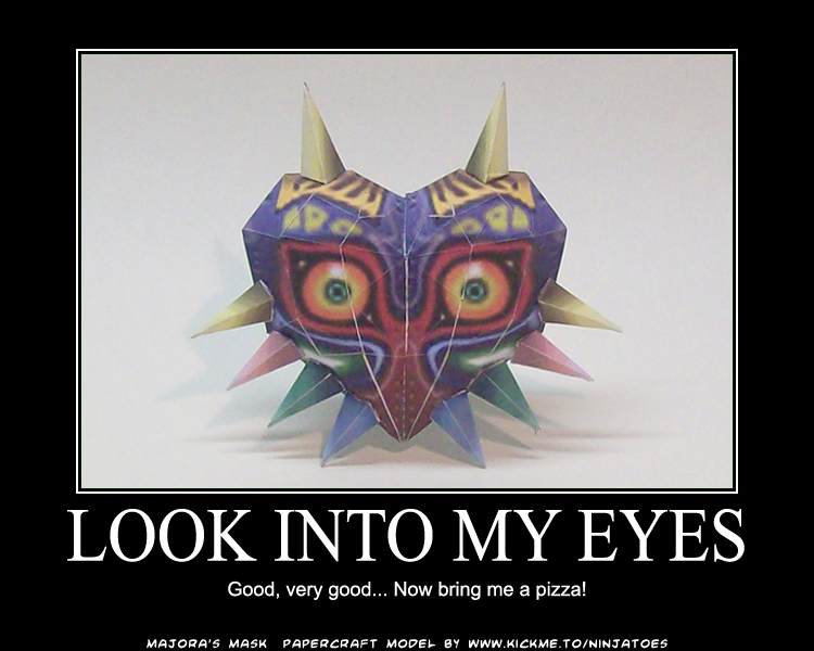 Majora's Master Plan by ninjatoespapercraft