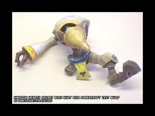 Sora 1, Kurt Zisa 0 by ninjatoespapercraft