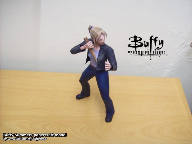Buffy papercraft model by ninjatoespapercraft