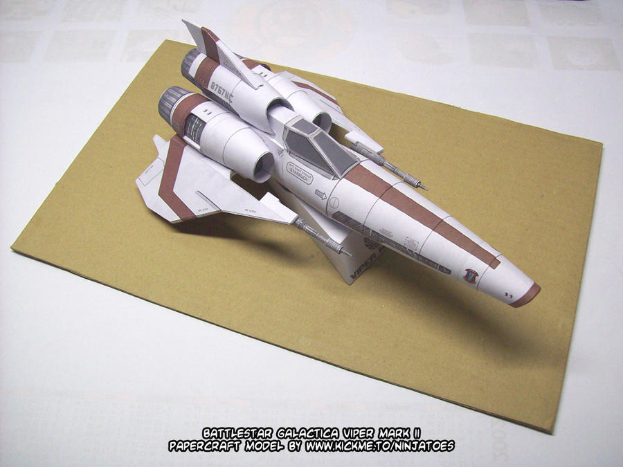papercraft Viper Mark II big by ninjatoespapercraft