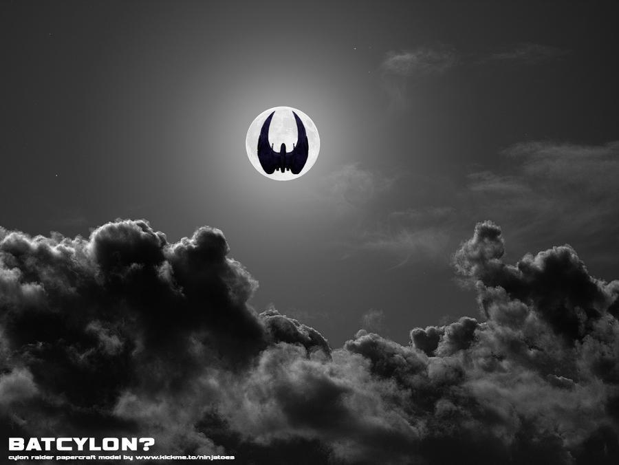 Batman's Cylon gadgets by ninjatoespapercraft