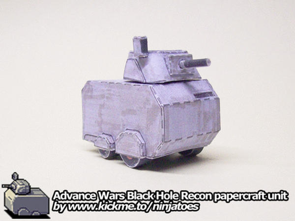 Black Hole Recon papercraft by ninjatoespapercraft