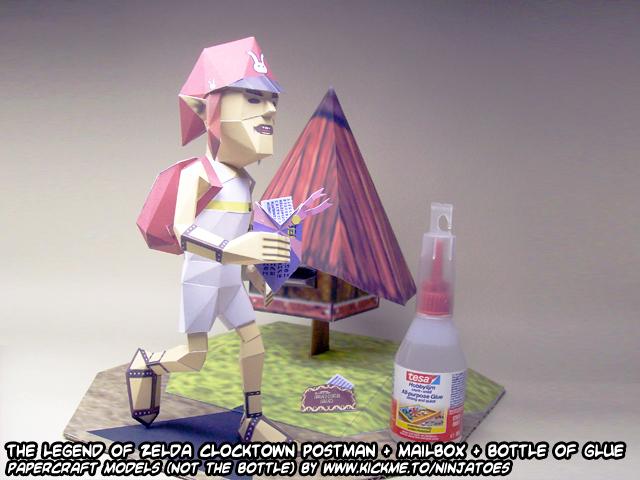 Zelda Postman papercraft 1 by ninjatoespapercraft