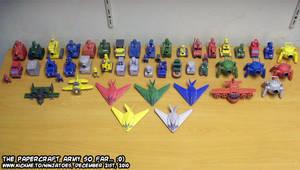 Advance Wars papercraft models by ninjatoespapercraft