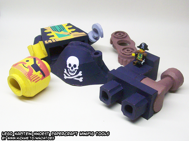 papercraft LEGO pirate parts 2 by ninjatoespapercraft
