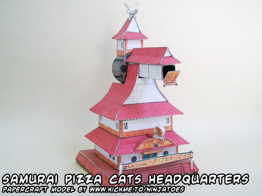 SPC headquarters papercraft by ninjatoespapercraft