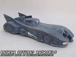 papercraft Batmobile by ninjatoespapercraft