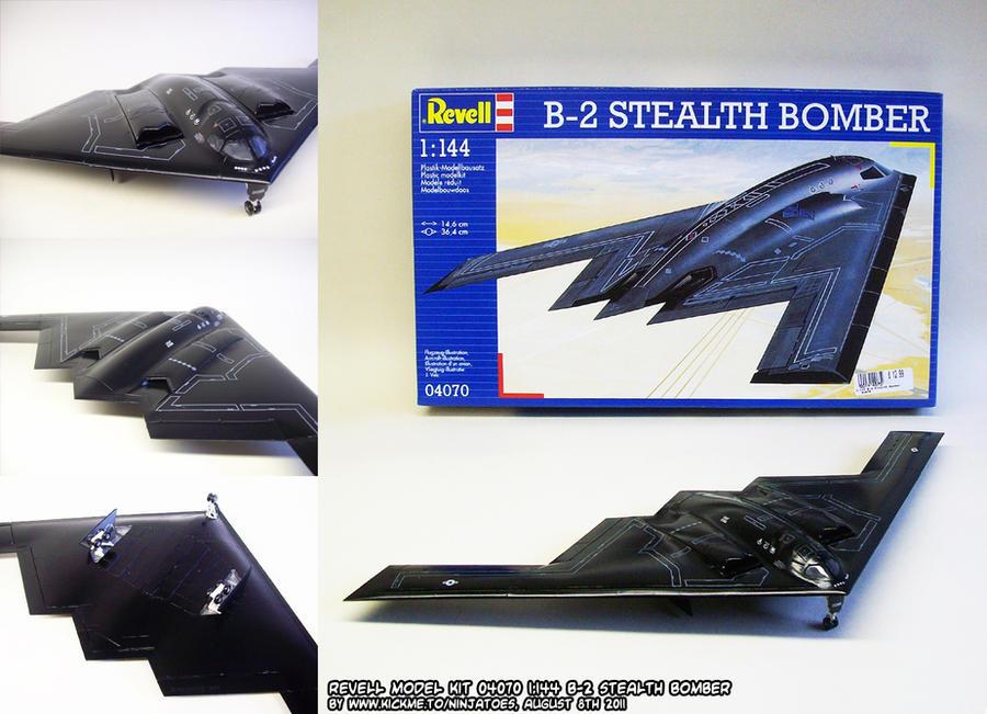 Revell B-2 stealth bomber by ninjatoespapercraft