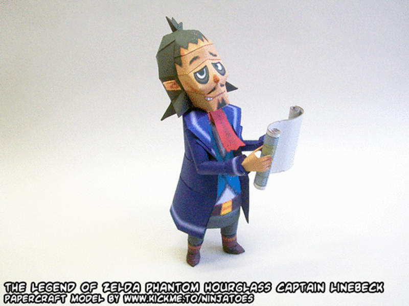 Zelda Linebeck papercraft 1 by ninjatoespapercraft