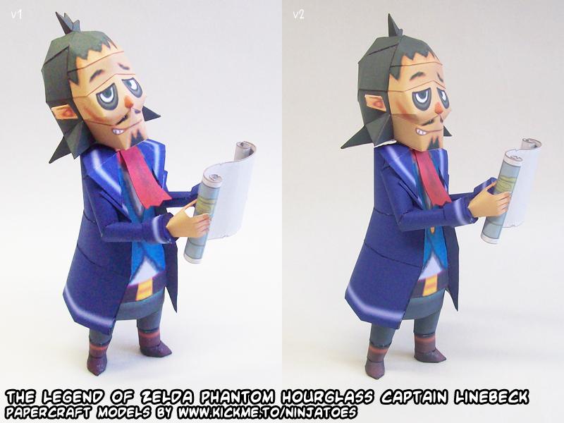 Zelda Linebeck papercraft 3 by ninjatoespapercraft