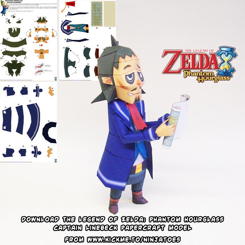 Zelda Linebeck papercraft 4 by ninjatoespapercraft