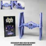 Papercraft Star Wars TIE-fighter release!