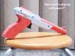 2006 papercraft Nintendo NES Zapper light gun