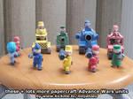 Papercraft Advance Wars Mech + other units
