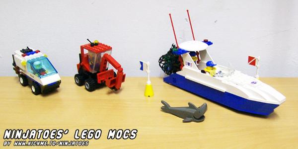 Ninjatoes LEGO MOCs by ninjatoespapercraft