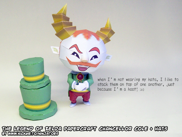 Papercraft Cole is a hoot! by ninjatoespapercraft