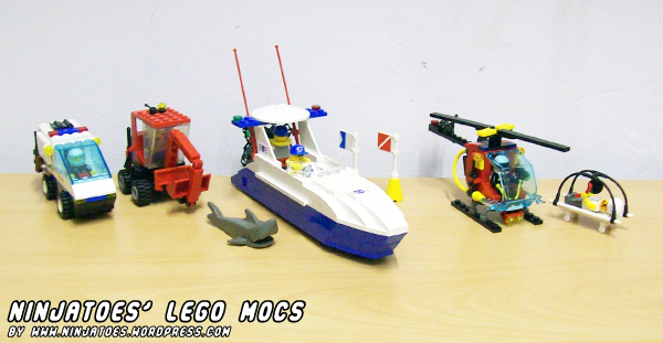 LEGO MOCs so far by ninjatoespapercraft