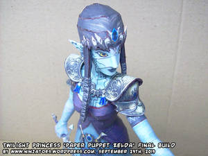 Paper Puppet Zelda final build