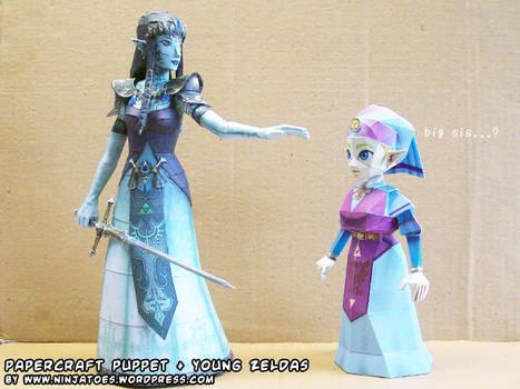 Big sister Zelda? Not quite...