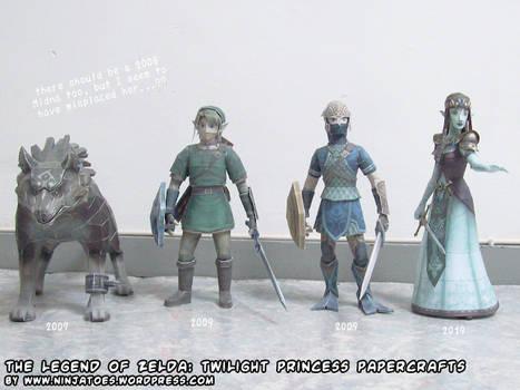 Legend of Zelda Twilight Princess papercrafts