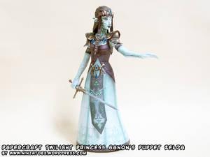 Paper Puppet Zelda