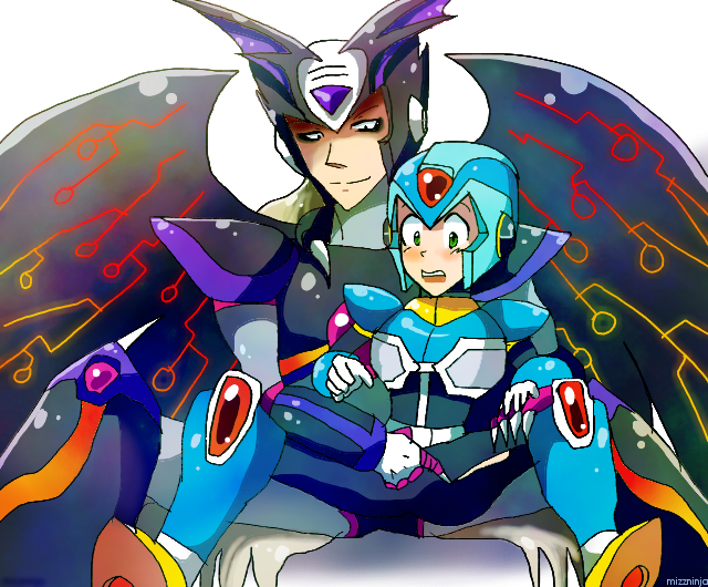 Deviantart Megaman Alia Inflation: Absolutezerox By Mizz-ninja On DeviantArt