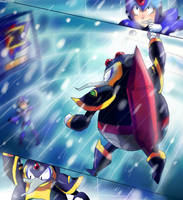 chill penguin by mizz-ninja