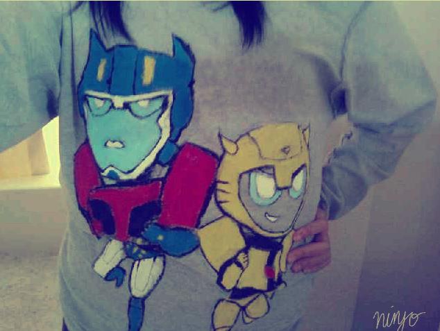 optimus bee shirt thing by mizz-ninja