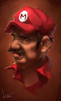mario by chase-chase