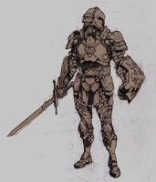 Infinity Blade Fan Art by chase-chase