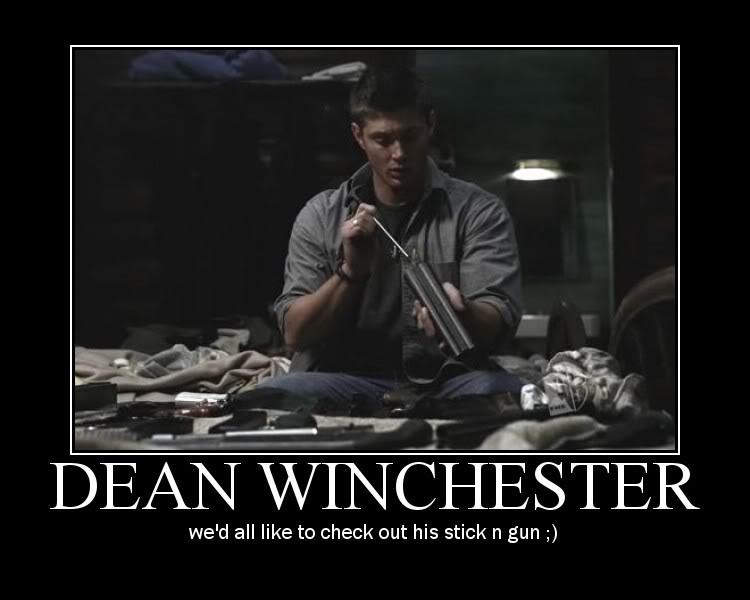 Supernatural Sexy Dean By Narutothesage