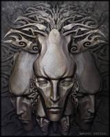 Stone Faces by nachoriesco