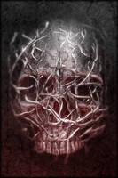 Grunge Skull by nachoriesco