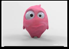 Plasticine Dude by nachoriesco