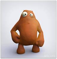 Plasticine Dude 2 by nachoriesco
