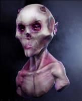 Demon Bust by nachoriesco