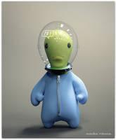 Friendly Alien by nachoriesco