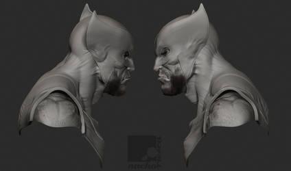 Wolverine Bust II