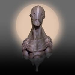 Acuatic Alien by nachoriesco