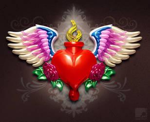 Sacred Heart by nachoriesco
