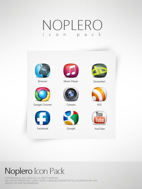 Noplero Icon Pack