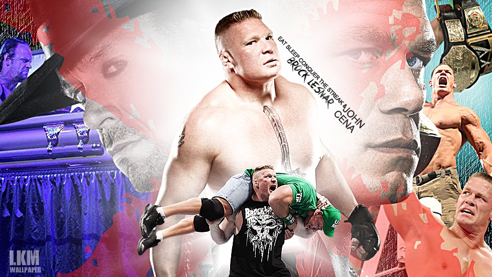 Eat Sleep Conquer John Cena Wallpaper Brock Lesnar