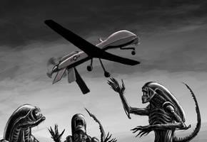 Aliens versus Predator by JanKlimecky