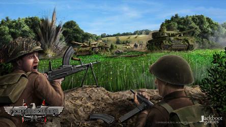 Festung Europa concept - Panzer counterattack