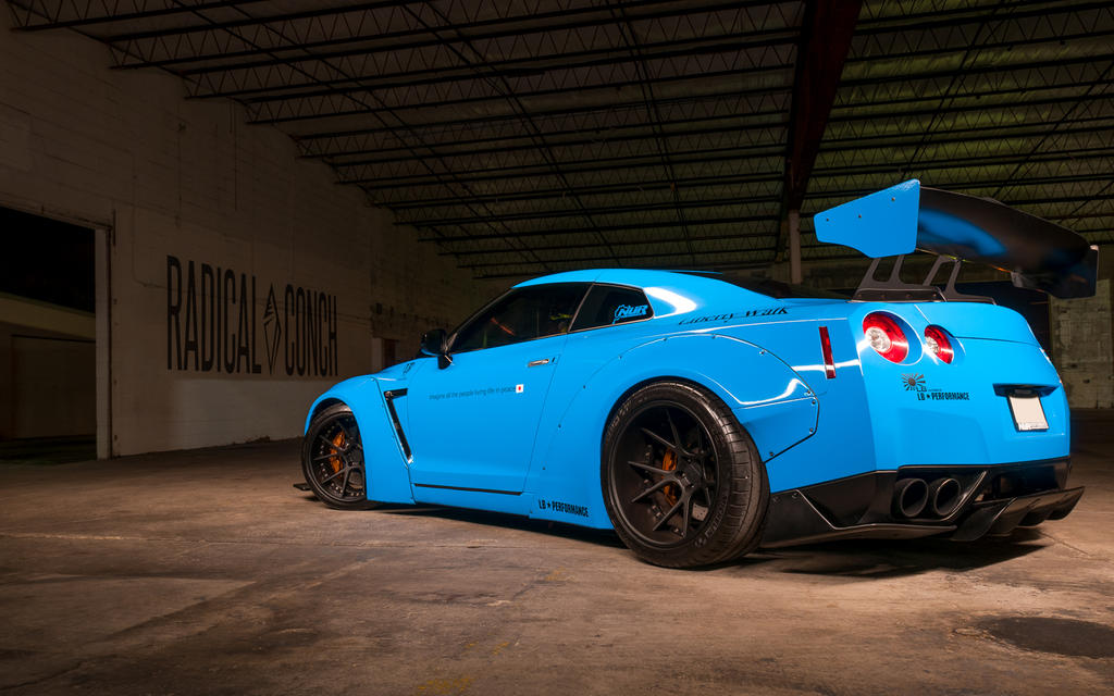 Liberty Walk GTR Promo by Fox429