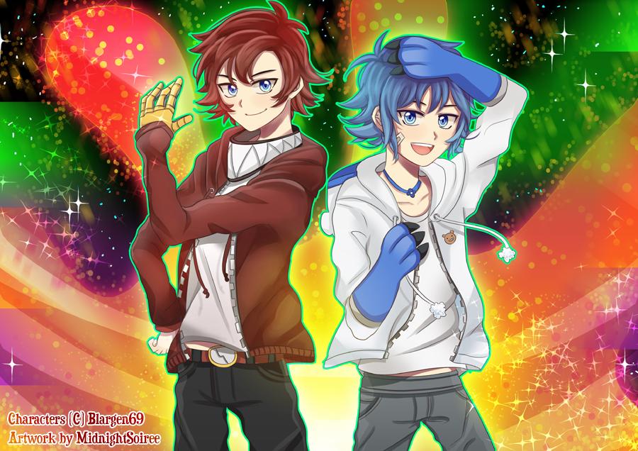 AT - Puraya and Natsumi by MidnightSoiree