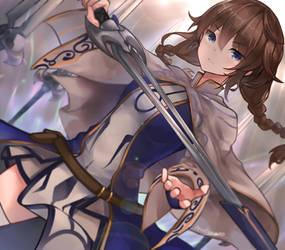 Sword Summoning by INeonBeatI