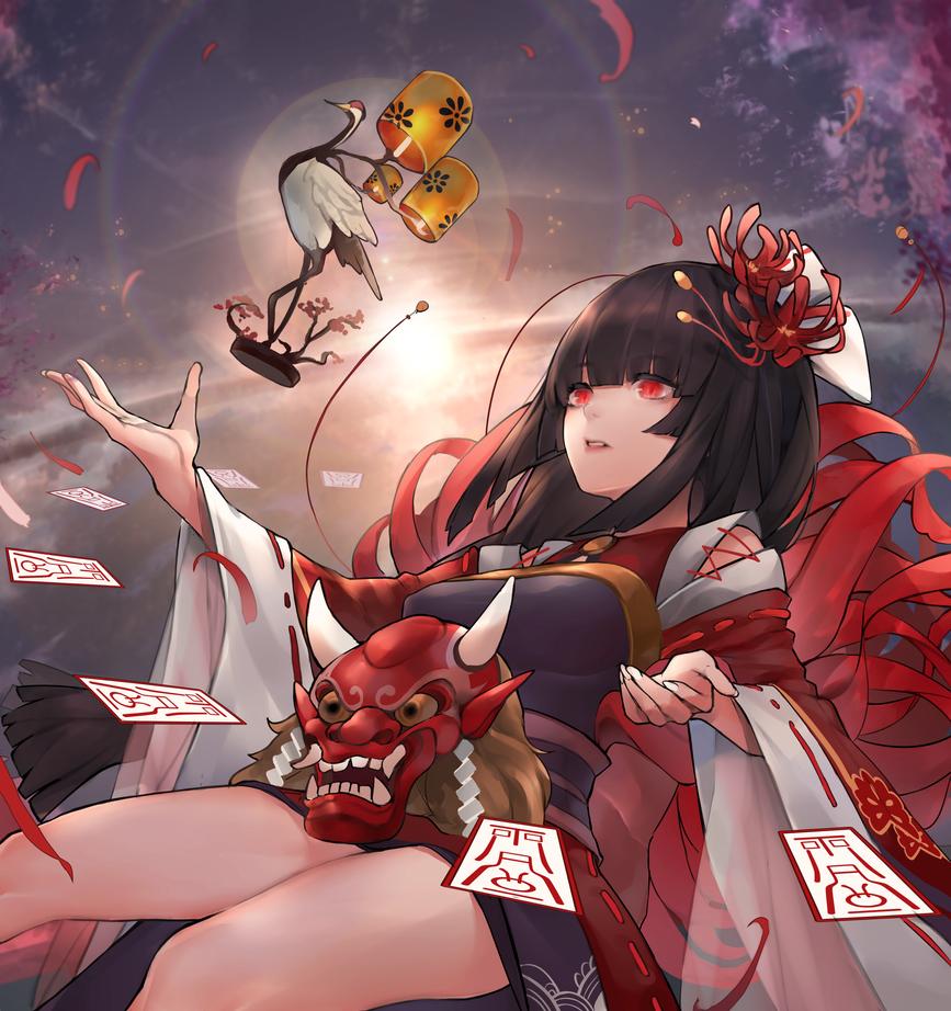 Onmyoji - Higanbana by INeonBeatI