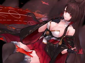 Akagi by INeonBeatI